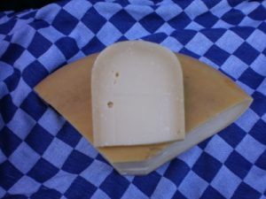 Pittig-belegen boeren kaas
